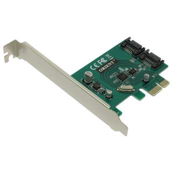 Контроллер ORIENT A1061SL PCI-Ex 2 int port SATA 6Gb/s, oem