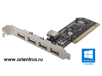 Контроллер ORIENT NC-612 NEC PCI to USB (4+1) oem