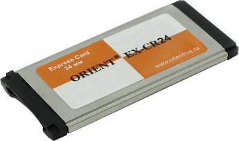 Контроллер ORIENT EX-CR24 EXPRESS CARD CARDREADER 24in1