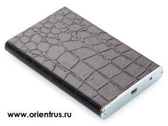 "Корпус 2.5"" HDD External Aluminum/leather case <Orient 2559 U3> (внеш. бокс для подключ. 2.5"" SATA HDD USB3.0)"