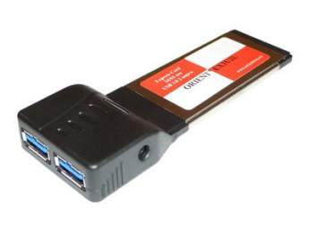 Контроллер ORIENT EX3U2L, EXPRESS CARD/34 USB3.0 2 port без блока питания