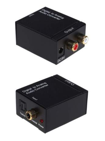 DIGITAL TO ANALOG CONVERTER ORIENT DAC0202N, блок питания 5V/1A в комплекте